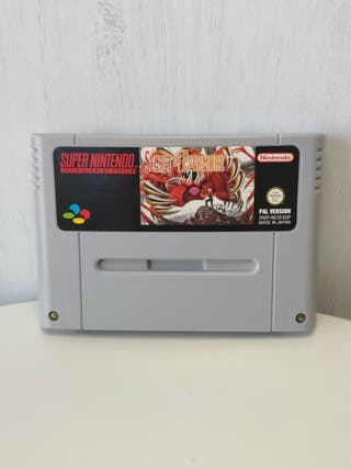 juego secret of evermore Pal España super Nintendo
