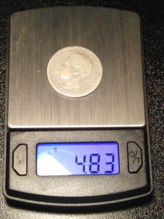 1 peseta de plata del año 1900 (Alfonso XIII)
