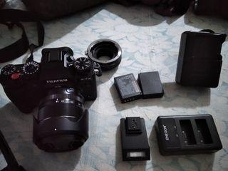 Fujifilm X-T3 + accesorios