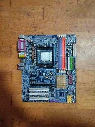 Placa base gigabyte mas procesador