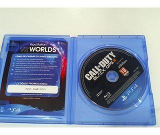 Videojuego PS4 Call Of Duty Black Ops III