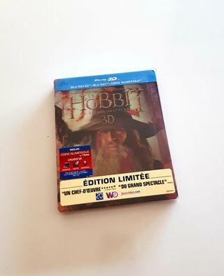 Steelbook bluray HOBBIT coleccionista LIMITADA