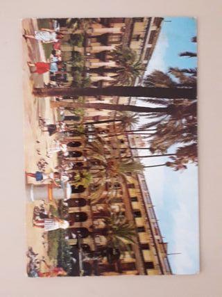 postal de Barcelona años 60's