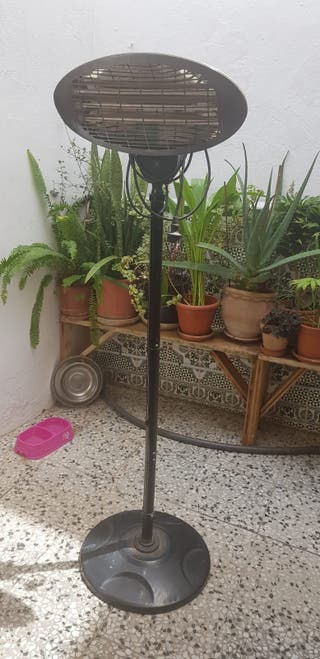 Estufa patio jardïn