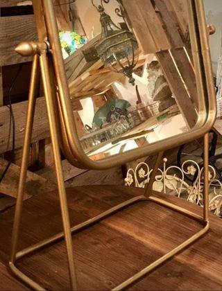 Espejo de hierro basculante