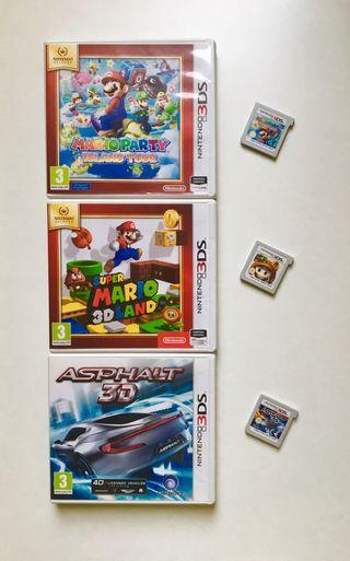 Juegos Nintendo 3DS/2DS (Super Mario,...)