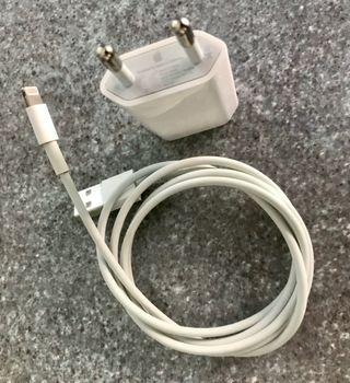 Cargador + Cable de Datos Original Apple
