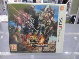 Juego Nintendo 3DS Monster Hunter 4 Ultimate