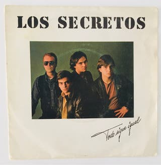 LOS SECRETOS :Todo sigue igual Disco Vinilo Single
