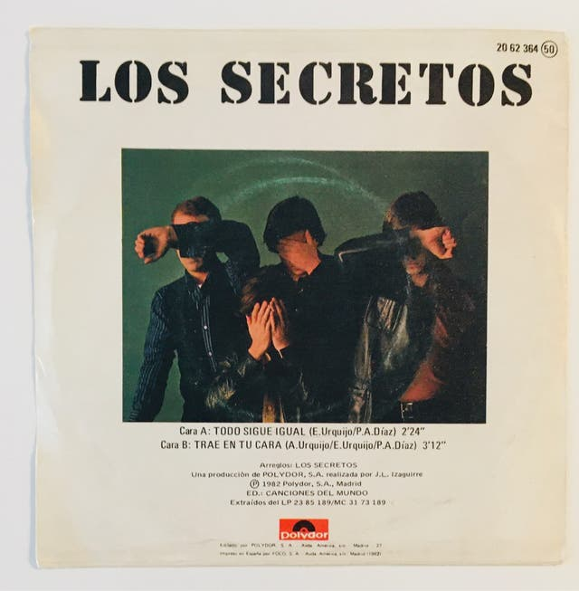 LOS SECRETOS :Todo sigue igual Disco Vinilo Single