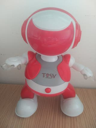 JUGUETE ROBOT PARTYBOT TOSY ROJO