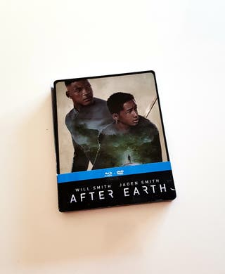 Steelbook bluray AFTER EARTH coleccionista
