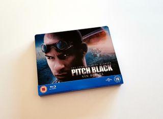 Steelbook bluray PITCH BLACK coleccionista