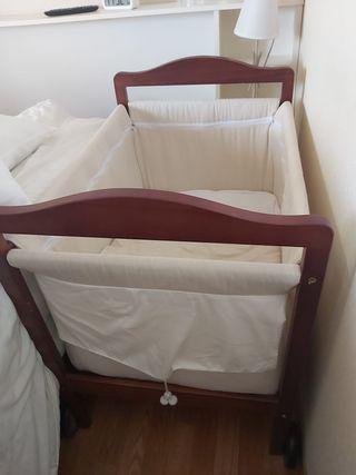 minicuna bebé