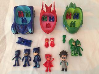 Lote juguetes PJ MASK
