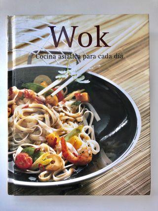 """Libro """"Wok, cocina asiática para cada día"""""""