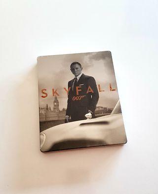 Steelbook bluray SKYFALL coleccionista LIMITADA