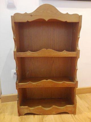 Alacena rústica madera maciza