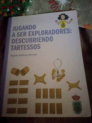 Libro infantil Jugando a ser exploradores Tartesso
