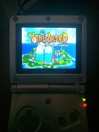 clonica ags101 ags-101 gameboy advance sp + juegos
