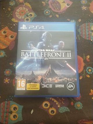 BATTLEFRONT II STAR WARS PS4