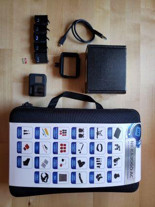Go Pro Hero 7 Black + 5 Baterias y Accesorios