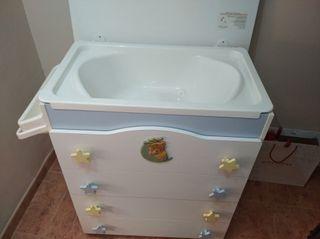 mueble con bañera