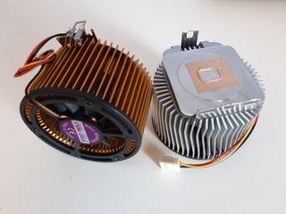 Ventilador con disipador procesadores AMD