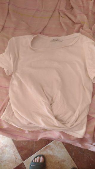 Camiseta top zara