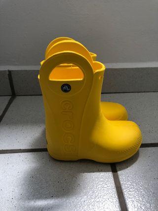 Botas crocs de agua niños