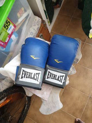 vendo guantes de boxeo. semi nuevos