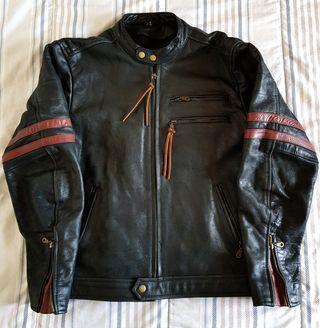 chaqueta cuero (Piel original)