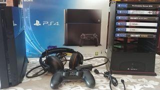 PS4 500 GB muy poco uso