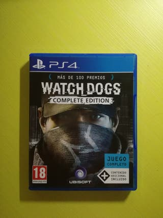 WATCH DOGS PS4 NUEVO