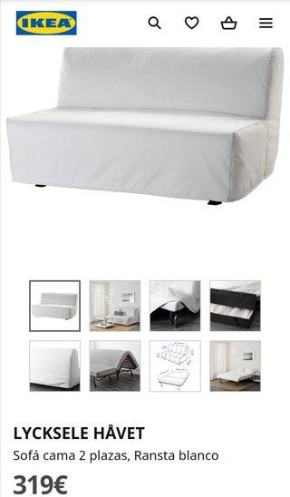 Sofa cama Lycksele havet