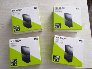 Disco duro externo WD My Book 10TB
