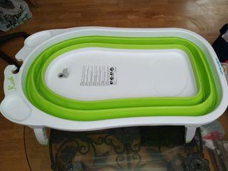 Bañera de bebé plegable