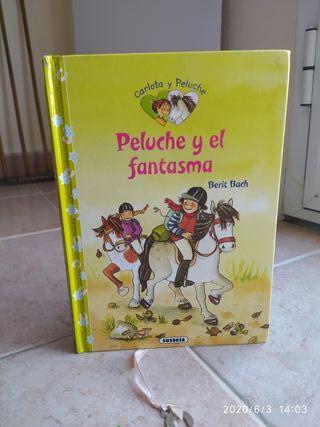 """Libro infantil """"Peluche y el fantasma"""""""