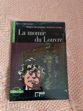 Libro Francés La Momie Du Louvre + CD SIN ABRIR