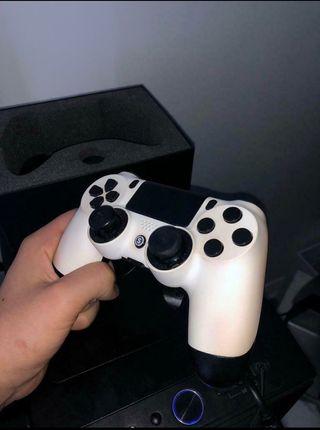 PS4 scuff custom white controller