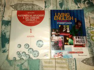Libros 1º Bachillerato Sociales