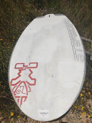 tabla de windsurf adaptada foiling foil
