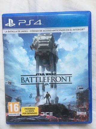 Star Wars Battlefront para PS4