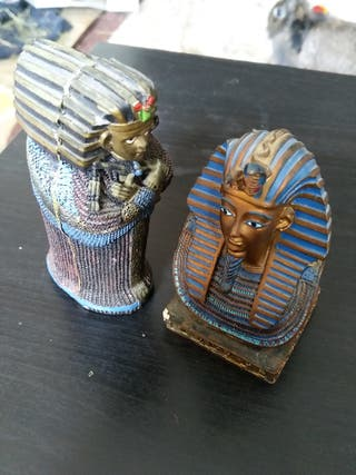 Figuritas decorativas egipcias