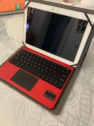 Tablet bq M10+ funda con teclado