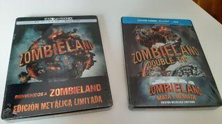 Pack Zombieland steelbook blu-ray