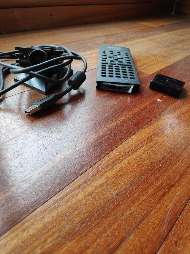PS2 mando y web cam
