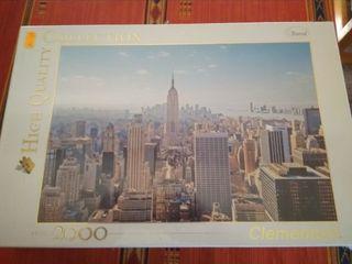 "Puzzle 2000 piezas Clementoni ""travel"""