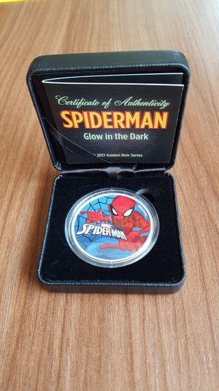 1 Onza plata pura Spiderman. Marvel 2017