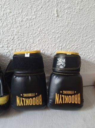 2 pares de guantes de boxeo